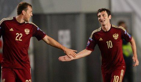 России по футболу выйдет на евро 2016