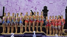 Призеры чемпионатеа мира по художественной гимнастике в Измире