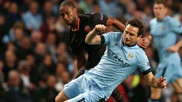 Манчестер Сити дома сыграл вничью с Ромой в матче Лиги чемпионов