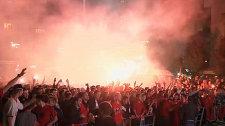 Сорванный матч Сербия - Албания: реакция болельщиков и мнение делегата УЕФА
