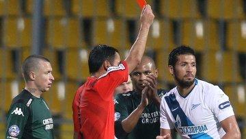 Григорьянц: ФК Зенит стал первым клубом, попросившим отменить красную карточку