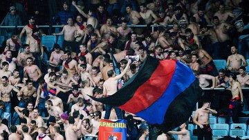 Баннер и выкрики фанатов ЦСКА в адрес УЕФА на матче с Кубанью рассмотрит КДК