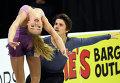 Александра Степанова и Иван Букин на турнире Skate America