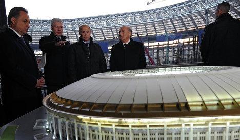 Владимир Путин: все работы по подготовке к ЧМ-2018 будут выполнены качественно и в срок