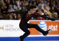Адьян Питкеев на этапе Гран-при по фигурному катанию - Skate America