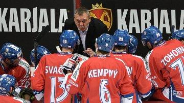Молодые хоккеисты сборной Чехии постараются проявить себя в матче с РФ - Ружичка