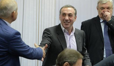 Гинер извинился перед членами исполкома РФС за некорректное поведение