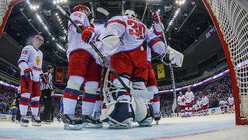 Сборная России по хоккею досрочно стала победителем Кубка Первого канала-2014