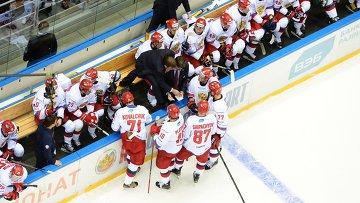 Два капитана: Ковальчук принес россиянам победу в КПК в день проводов Морозова