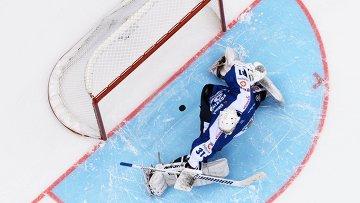 Финн Коскинен рад, что научился отражать буллиты чешского хоккеиста Коваржа