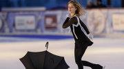 Олимпийская чемпионка Сочи Юлия Липницкая