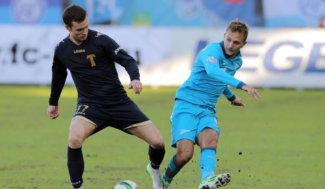 «Зенит» не удержал победу в гостевом матче с «Торпедо»