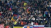 Болельщики в матче отборочного турнира чемпионата Европы 2016 между сборными Черногории и России