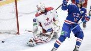 Игровой момент матча СКА - ЦСКА