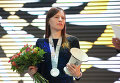 Вице-чемпионка Наталья Погонина (Россия)