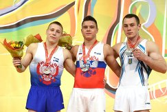 Денис Аблязин, Никита Нагорный и Игорь Радивилов (слева направо)